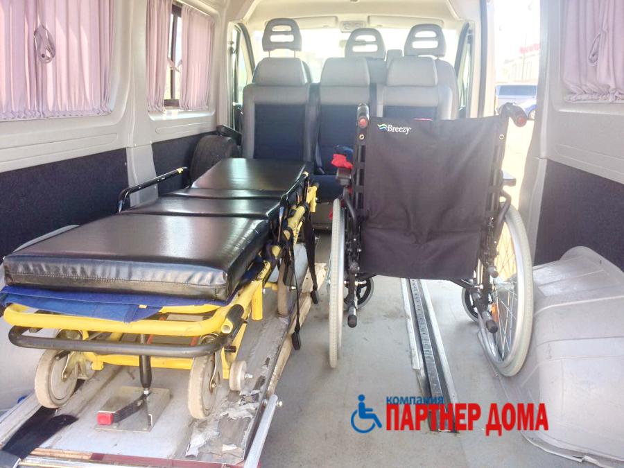 транспортировка больных в Казани